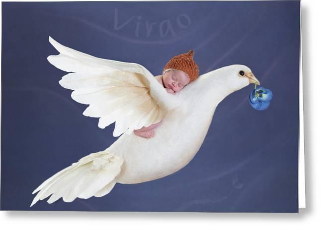 Virgo Greeting Card by Anne Geddes