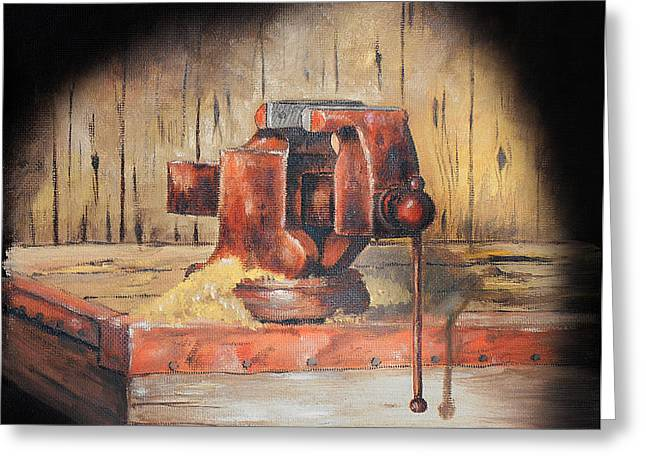 Vise Greeting Card by Bob Hallmark