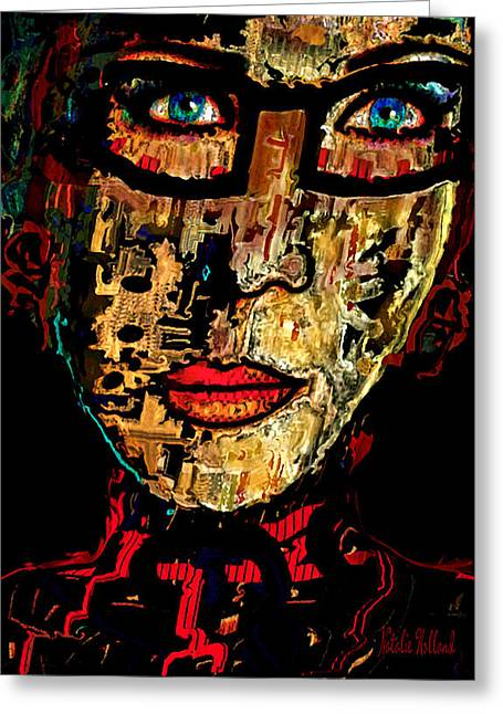Visionary Insight Greeting Card by Natalie Holland