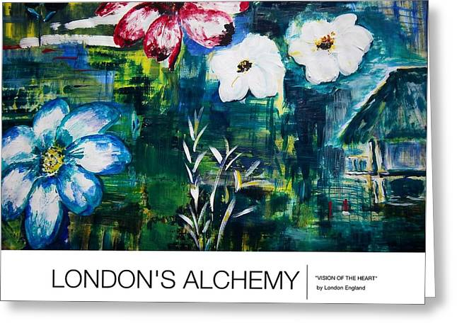 London England Greeting Cards - Visions Of The Heart Greeting Card by London England