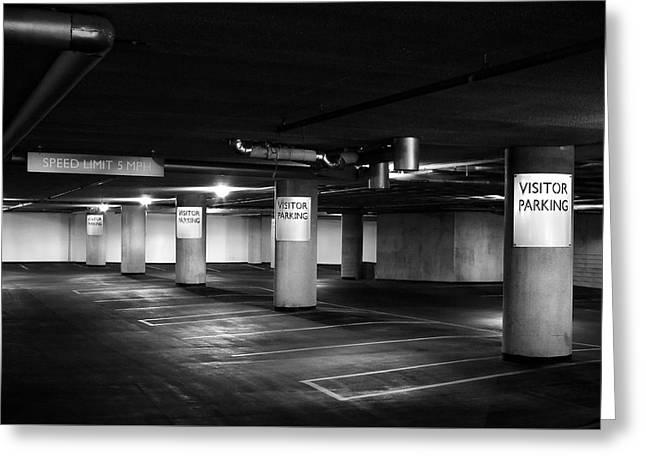 Visitor Parking Greeting Card by Todd Klassy