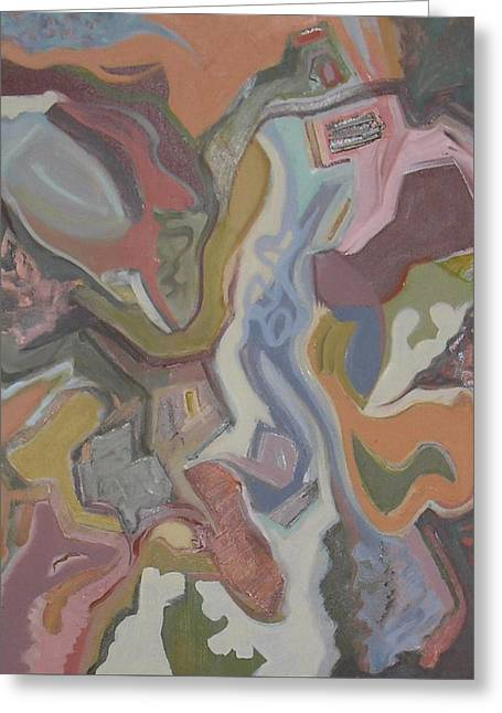 Abstract Shapes Greeting Cards - Visual Jazz #20 Greeting Card by Philip Rader
