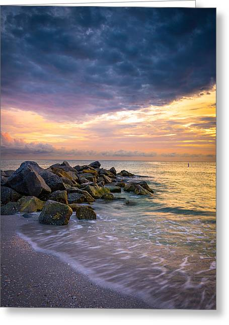Beach Photos Digital Greeting Cards - Vitality Greeting Card by Clay Townsend