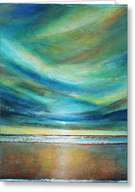 Sunset Originals Greeting Cards - Vivid Sky Greeting Card by Toni Grote