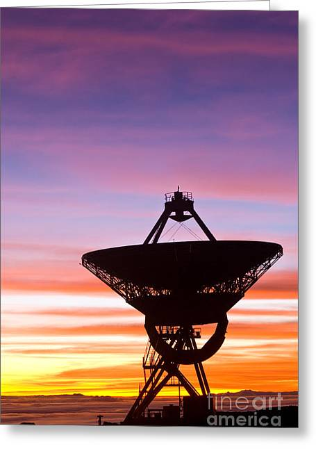 Vlba At Sunrise 2 Greeting Card by David Nunuk