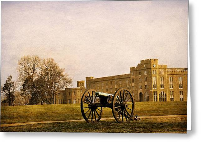 Rockbridge County Greeting Cards - VMI Lexington Greeting Card by Todd Hostetter