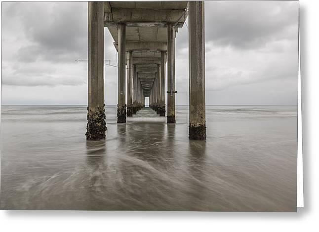 California Beaches Greeting Cards - Voices of Tides Greeting Card by Dustin  LeFevre