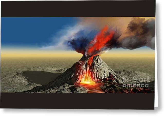 how to make a model volcano smoke