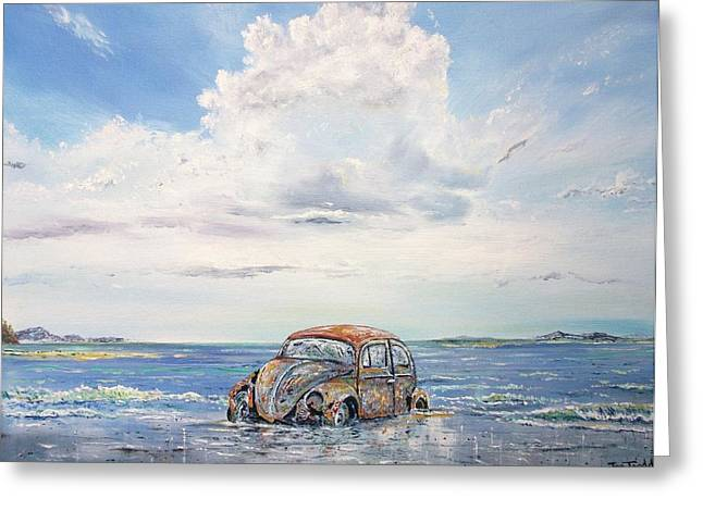 Volkswagen In Need Of T.l.c. Greeting Card by Joe Trodden