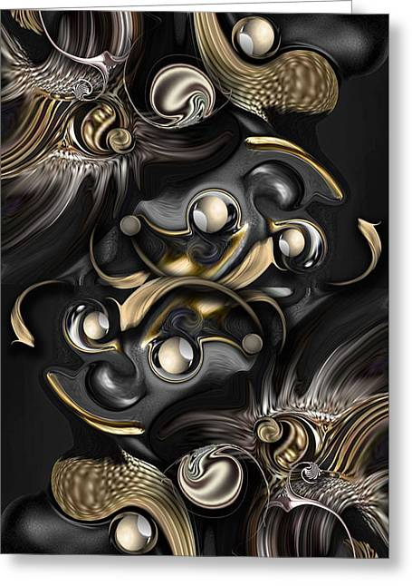 Volume With Formation Greeting Card by Carmen Fine Art