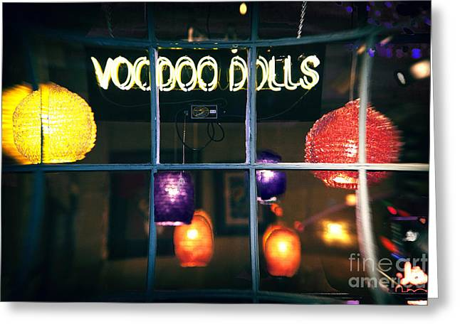 Photo Art Gallery Greeting Cards - Voo Doo Dolls Fusion Greeting Card by John Rizzuto