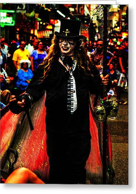 Vodoo Greeting Cards - Voodoo Priestess Greeting Card by Jeff Kurtz
