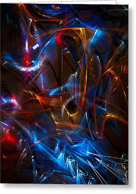 Apparel Greeting Cards - Vortex #2 Greeting Card by Michel Robert Cabrie