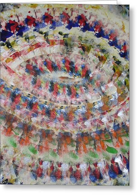 Russell Simmons Greeting Cards - Vortex Greeting Card by Russell Simmons