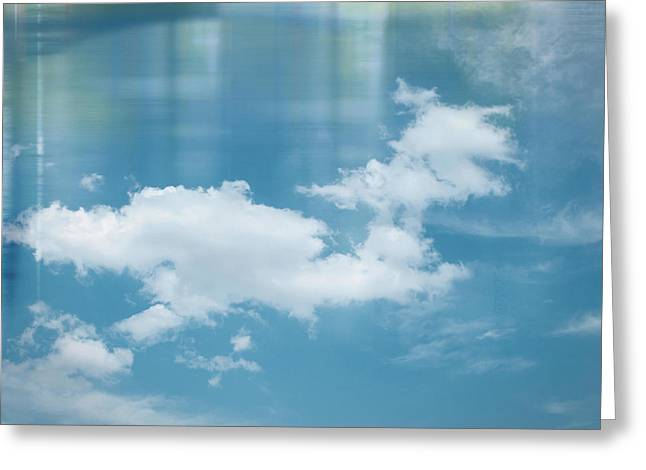 Voyager...cloudscape Greeting Card by Tom Druin
