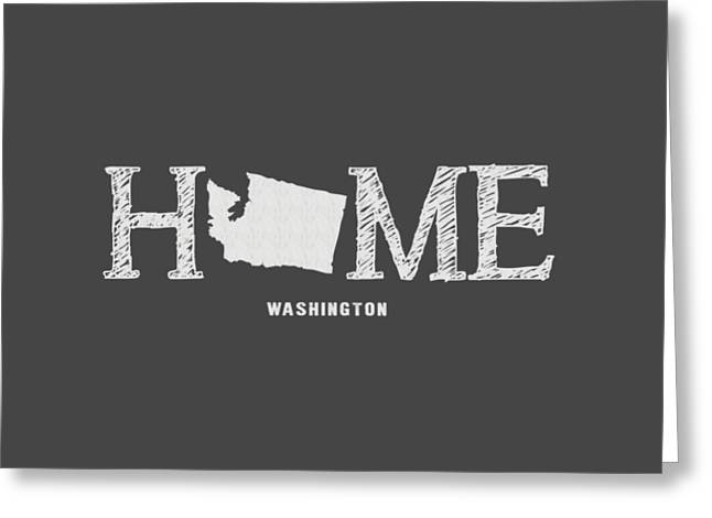 Wa Home Greeting Card by Nancy Ingersoll
