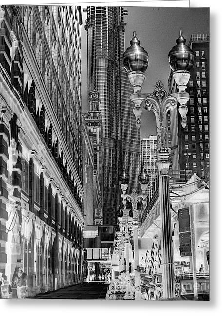 Macys Greeting Cards - Wabash Avenue Greeting Card by David Bearden