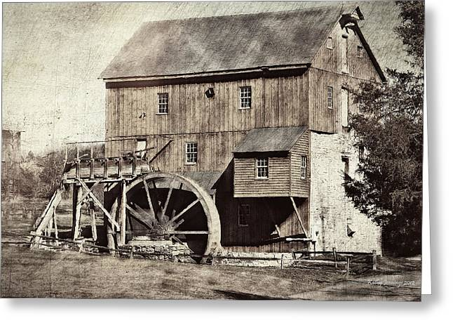 Rockbridge County Greeting Cards - Wades Mill Series II Greeting Card by Kathy Jennings