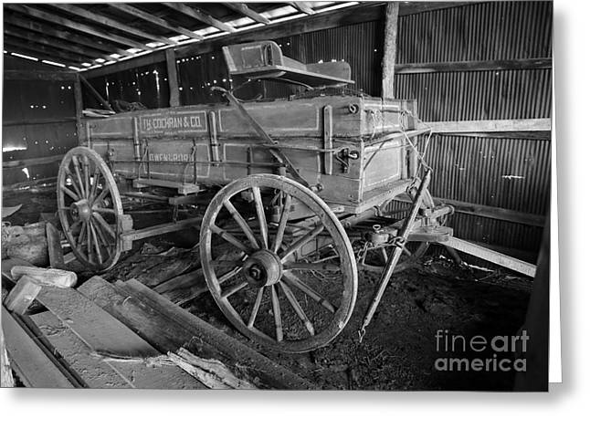 Owensboro Greeting Cards - Wagon made in Owensboro Kentucky Greeting Card by Dwight Cook