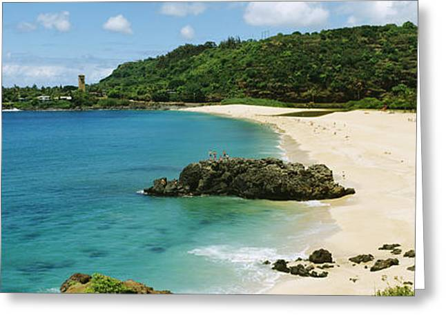 Popular Art Greeting Cards - Waimea Bay Greeting Card by David Cornwell First Light Pictures Inc - Printscapes