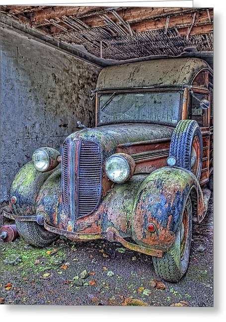 Waiting For A Part Greeting Card by Jim Dohms