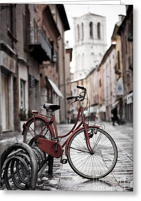 Characteristic Greeting Cards - Waiting for a ride Greeting Card by Andre Goncalves