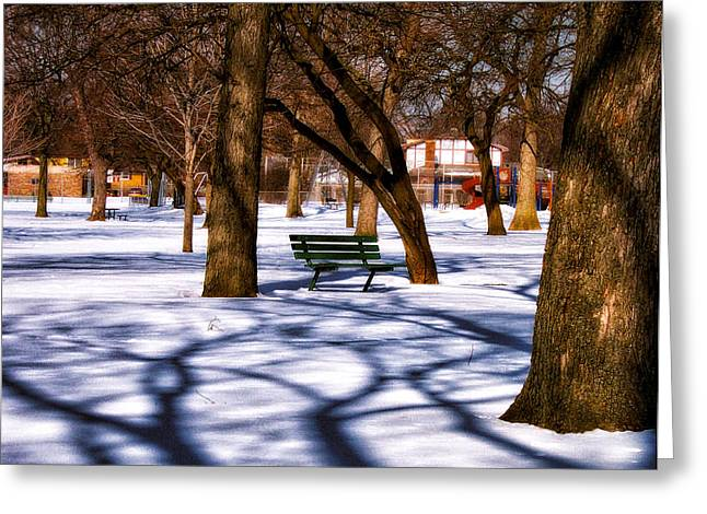 Waiting For Spring Greeting Card by Thomas Woolworth