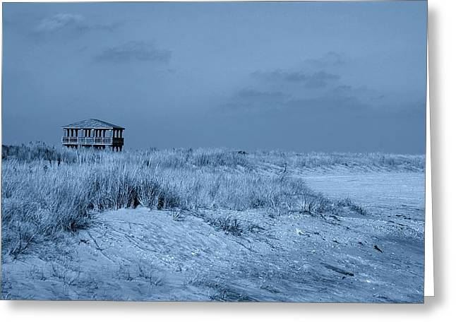 Waiting For Summer - Jersey Shore Greeting Card by Angie Tirado