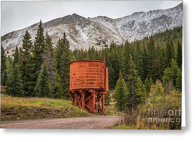 Boreas Greeting Cards - Waiting for the Train Greeting Card by Jon Burch Photography