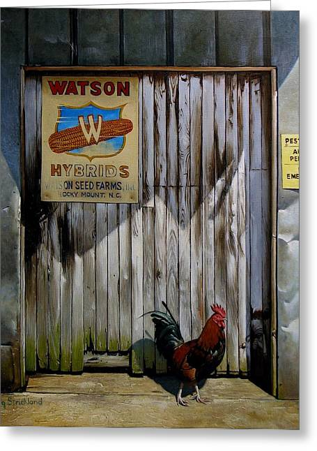 Doug Strickland Greeting Cards - Waiting for Watson 2 Greeting Card by Doug Strickland