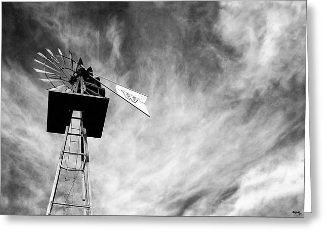 Mccarthy Art Greeting Cards - Waiting For Wind Greeting Card by Glenn McCarthy Art and Photography