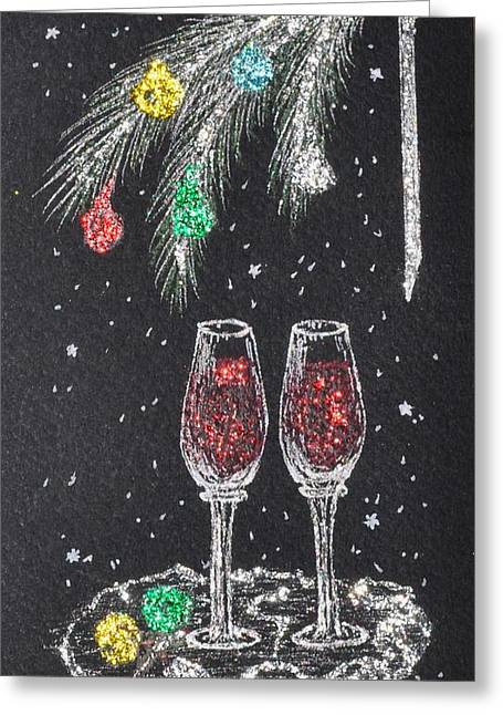 Chrismas Greeting Cards - Waiting for You Greeting Card by Georgeta  Blanaru