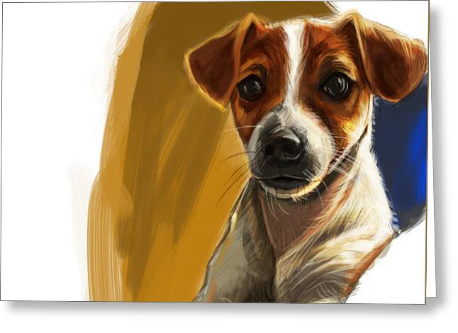 Petcare Greeting Cards - Waiting for you Greeting Card by Kamal Anjelo
