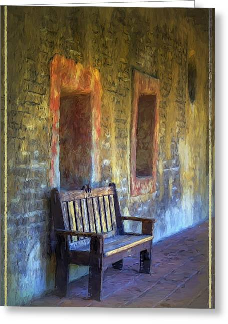 Religion Greeting Cards - Waiting II Greeting Card by Joan Carroll
