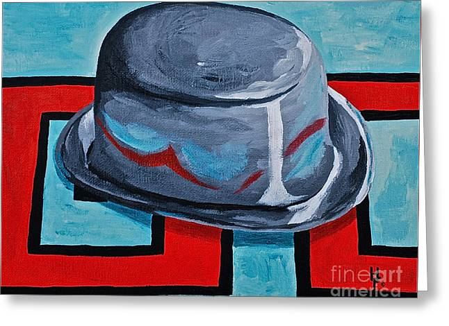 Monopoly Paintings Greeting Cards - Waiting to Go  Greeting Card by Herschel Fall