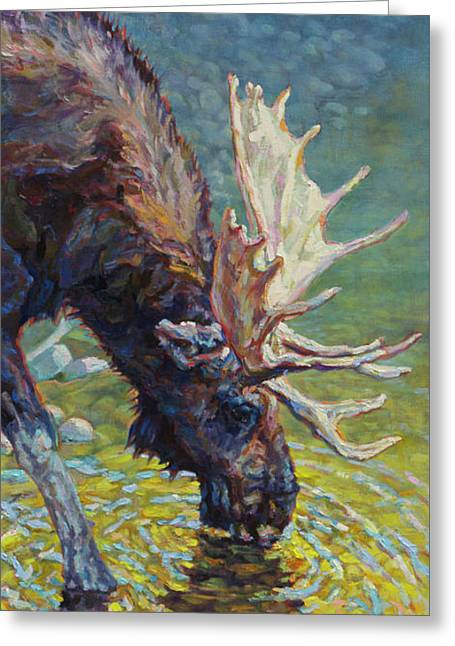 Walden Greeting Card by Patricia A Griffin