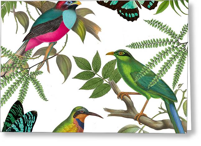 Forest Bird Greeting Cards - Walking On Air II Greeting Card by Mindy Sommers