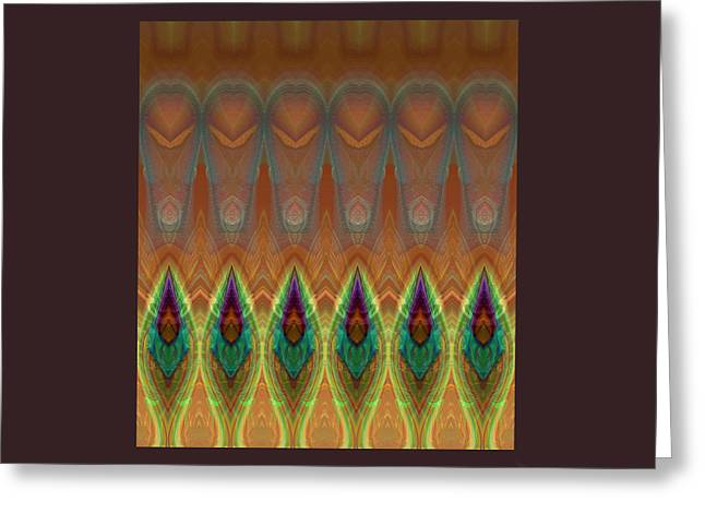 Visionary Artist Greeting Cards - Memory Greeting Card by Bob  Eige