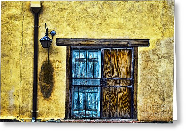 Adobe Greeting Cards - Walls and Details II Greeting Card by Ray Laskowitz - Printscapes