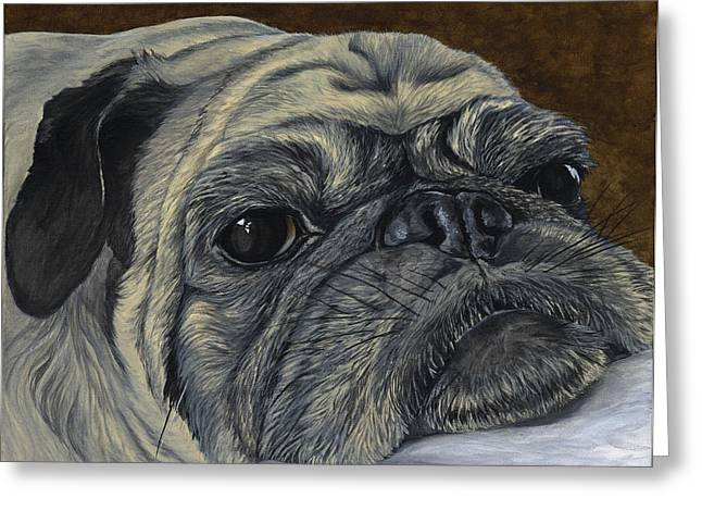 Advocacy Greeting Cards - Walter Greeting Card by Twyla Francois