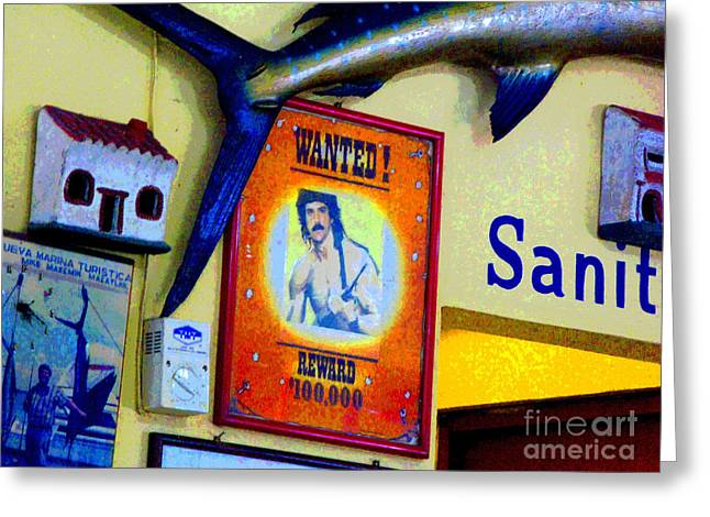 Wanted by Michael FItzpatrick Greeting Card by Olden Mexico