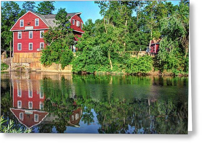 War Eagle Mill On The River - Northwest Arkansas Greeting Card by Gregory Ballos