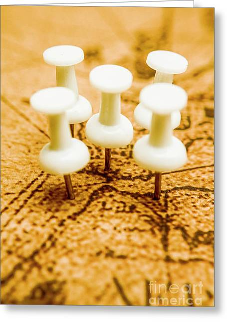 War Game Tactics Greeting Card by Jorgo Photography - Wall Art Gallery