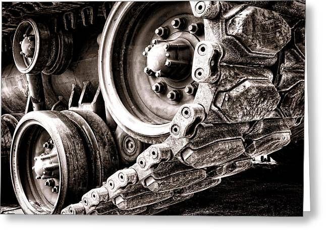 Sprockets Greeting Cards - War Machine Greeting Card by Olivier Le Queinec