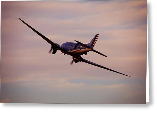 Military Airplanes Greeting Cards - Warbird  Greeting Card by Debbie Nobile