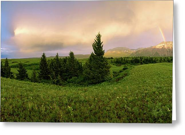Warm The Soul Panorama Greeting Card by Chad Dutson