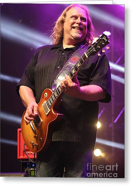 Allstar Greeting Cards - Warren Haynes and the Seaside Allstars Greeting Card by Front Row Photographs