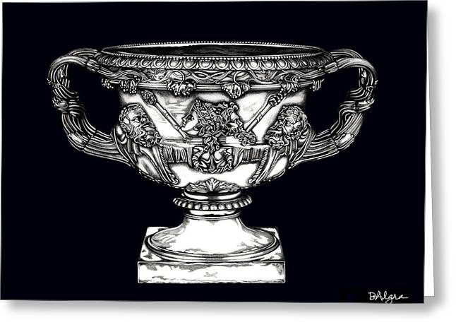 Warwick Sculptures Greeting Cards - Warwick Vase _ V3 Greeting Card by Bruce Algra