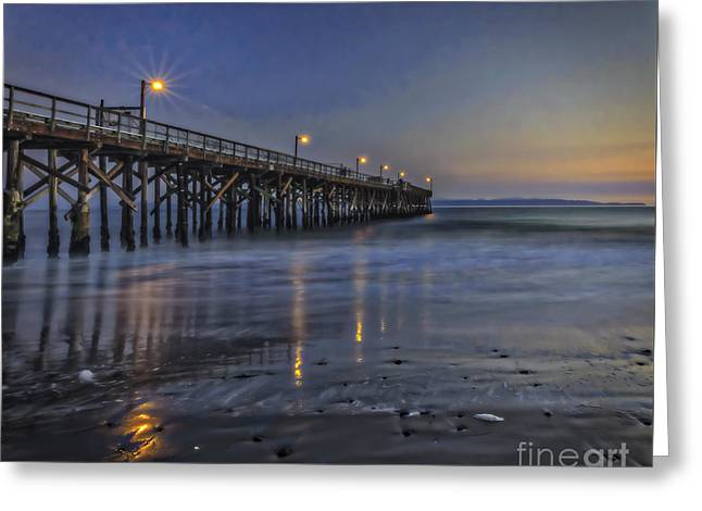 Beach Photography Greeting Cards - Washed Clean Greeting Card by Mitch Shindelbower