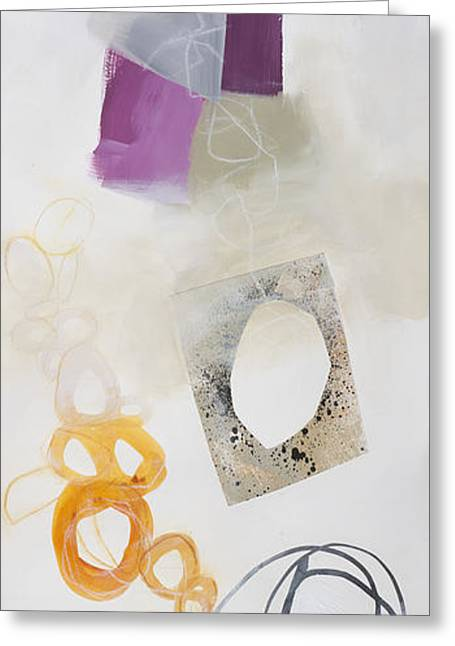 Acrylic Art Greeting Cards - Washed Up # 2 Greeting Card by Jane Davies